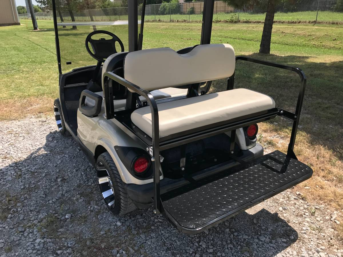 JB Carts  Yamaha Drive G29 Rear Flip Seat Kit  Choose