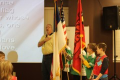 Flag and Bible Pledges