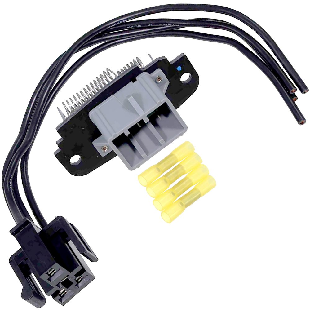 medium resolution of brand new blower motor speed control resistor includes wiring harness pigtail connector fits 1995 2003 ford explorer front ac heater