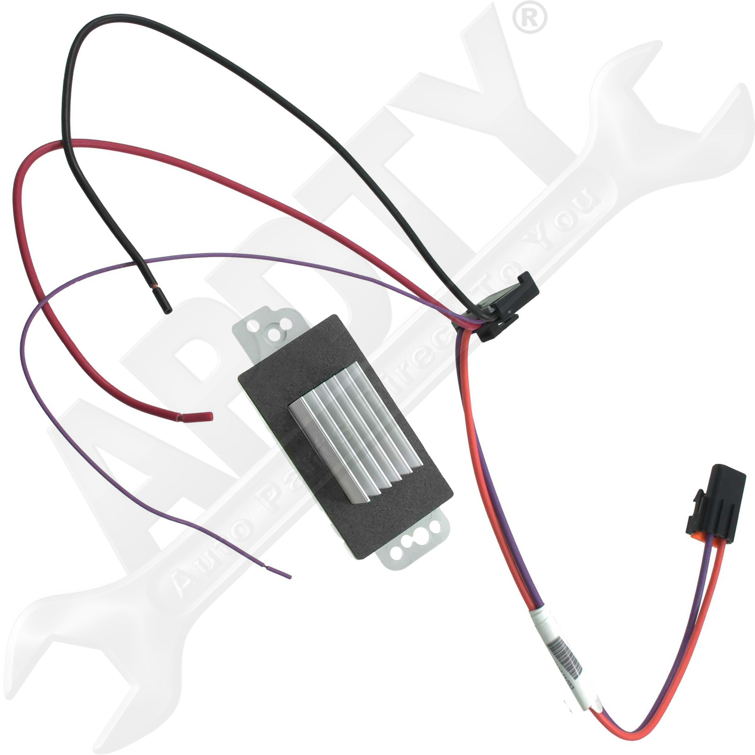 wiring diagram for blower motor resistor semi trailer plug 7 way apdty 112822 speed control module