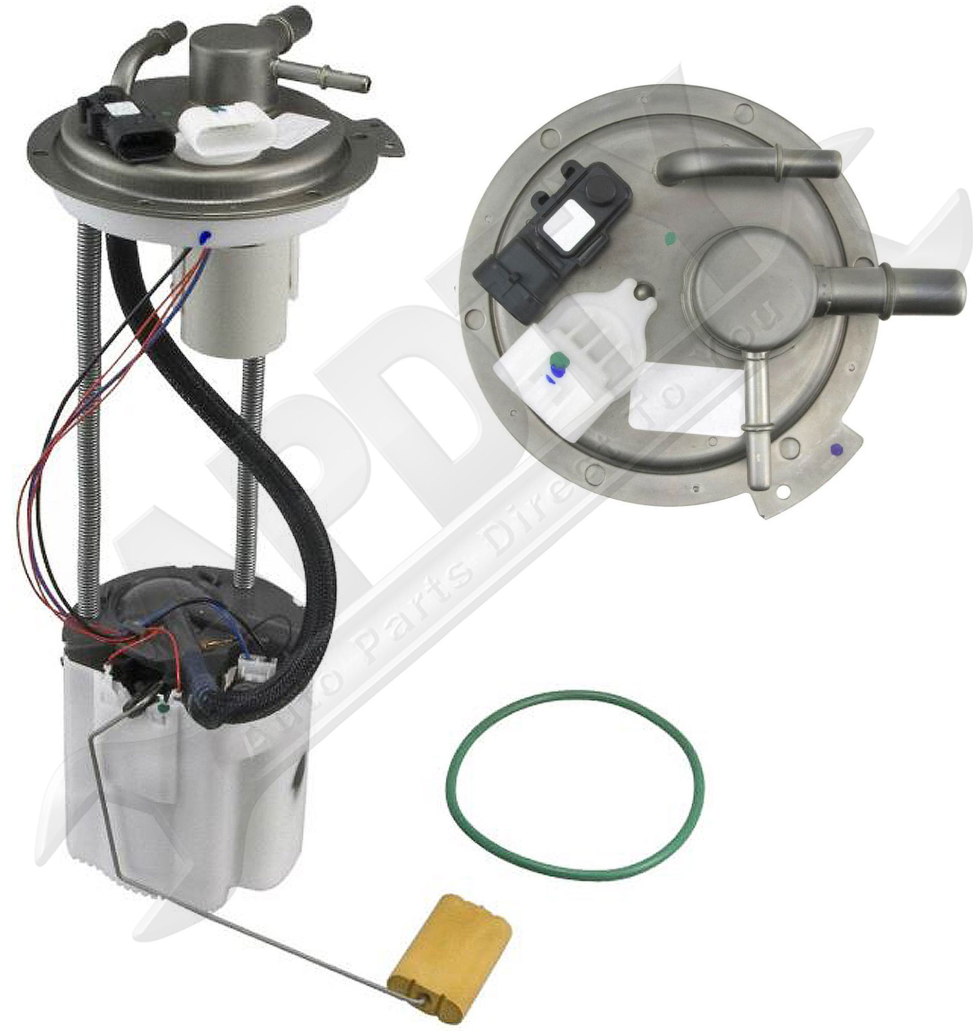 hight resolution of d tails apdty 19208956 fuel pump module sending unit complete assembly