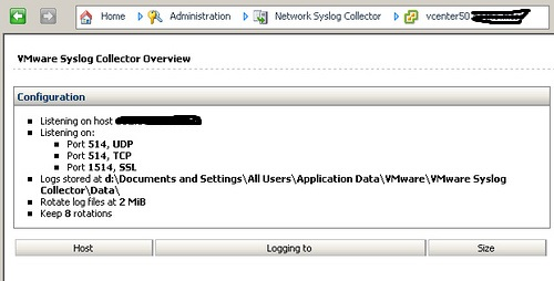 vCenter to syslog server - JBcomp com