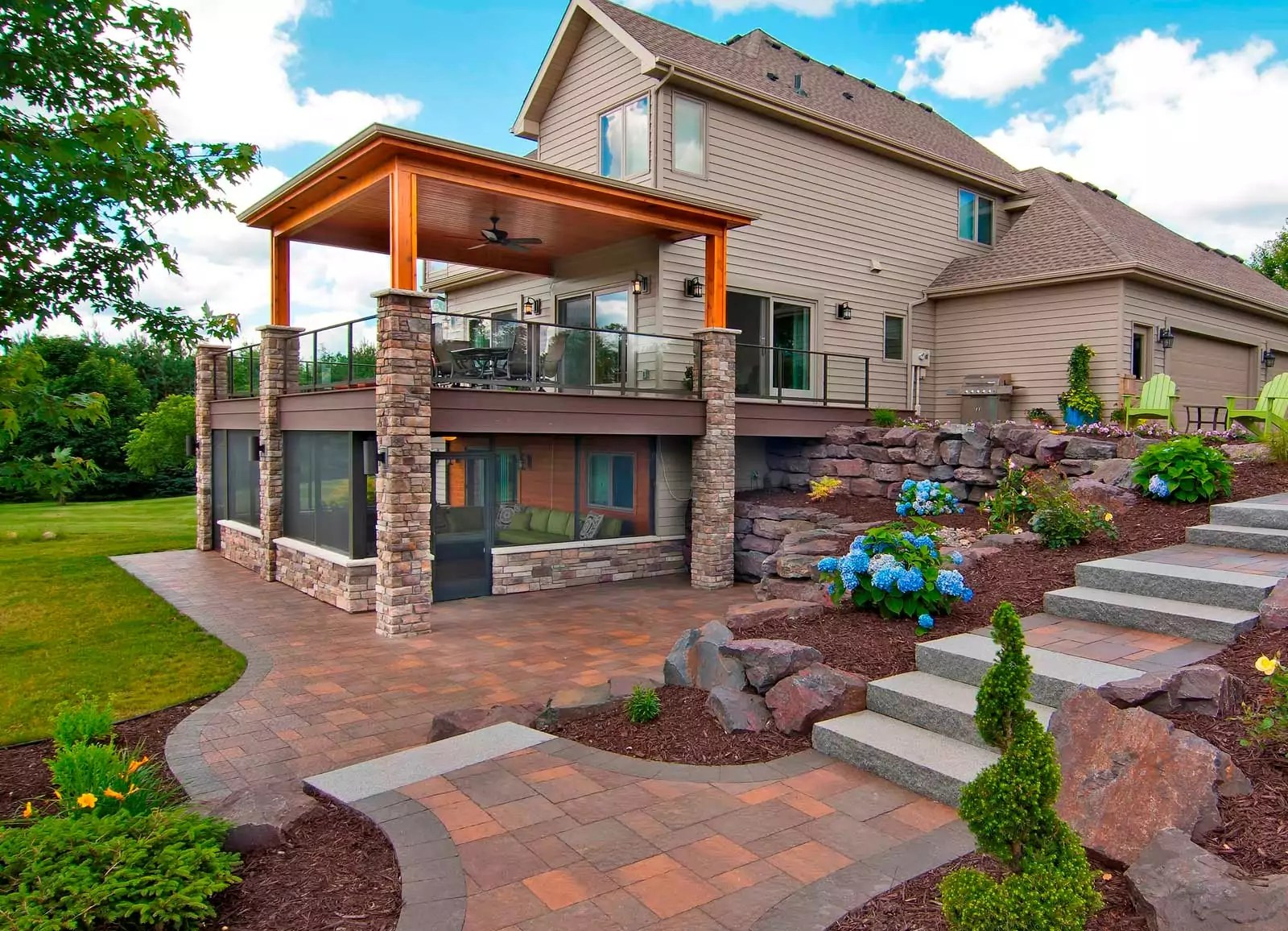 Outdoor Living Space Remodeling Services  James Barton