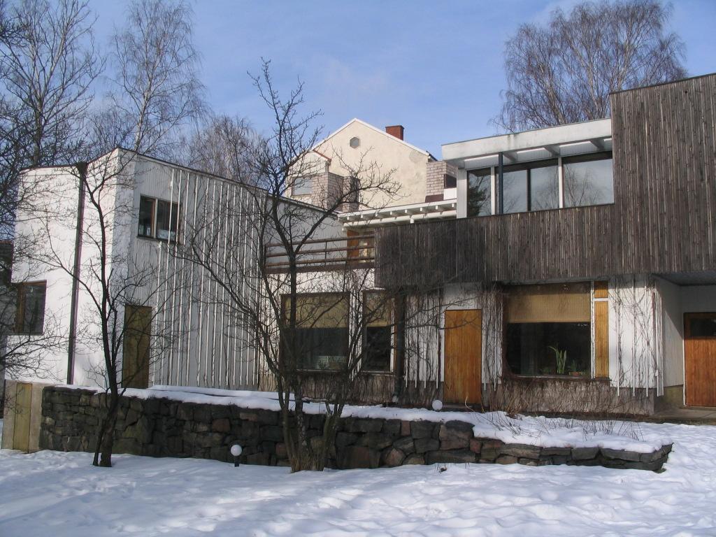 Europe 2009  February 25 Aalto house Munkkiniemi