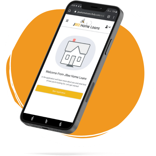 jbee home loans mortgage application on phone