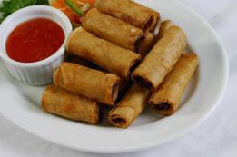 Philippines-food-lumpia