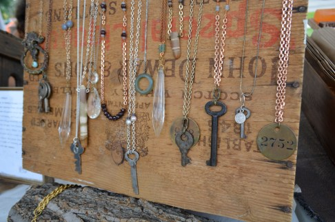 up-cycled necklaces