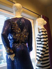 mannequins in sequins