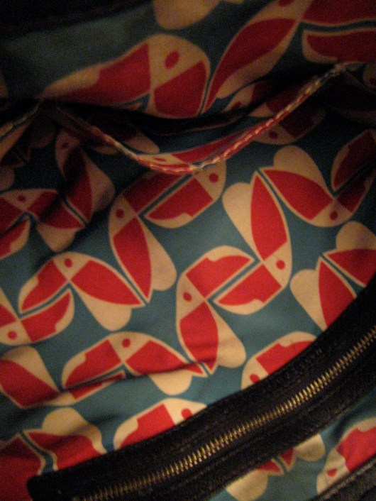lining of Marc by Marc Jacobs bag