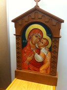 Mary and baby Jesus Iconography
