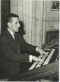 Jacques Berthier à l'orgue de la Cathédrale d'Auxerre (1960)