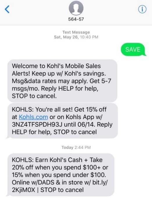 Urias v. Kohl's - SAVE