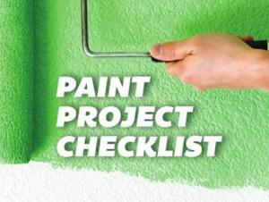 paint project checklist image