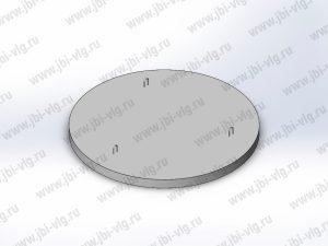 Плита днища колодца ПН 20 железобетонная по ГОСТ 8020-2016