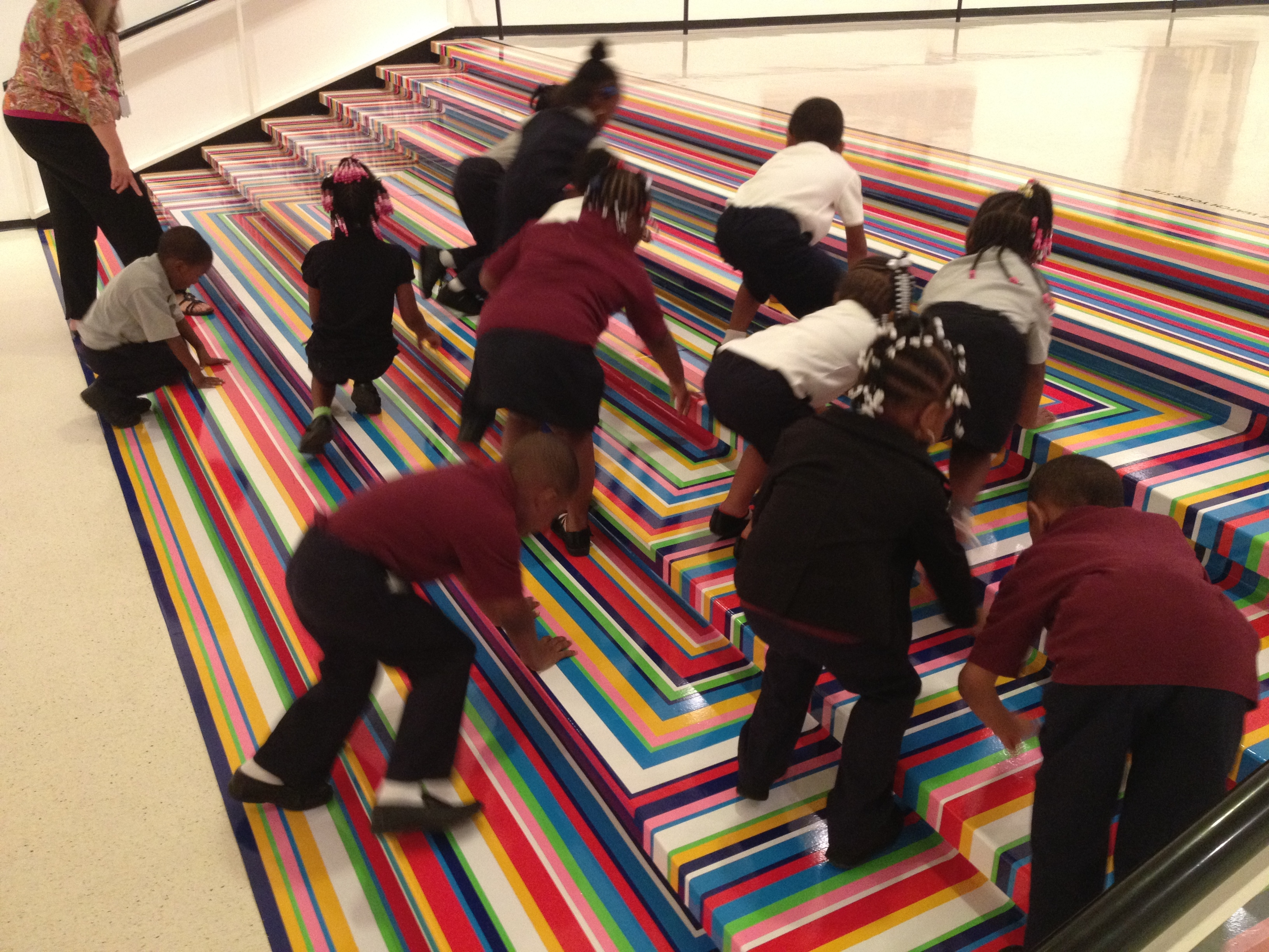 Art Gallery Stairs 2