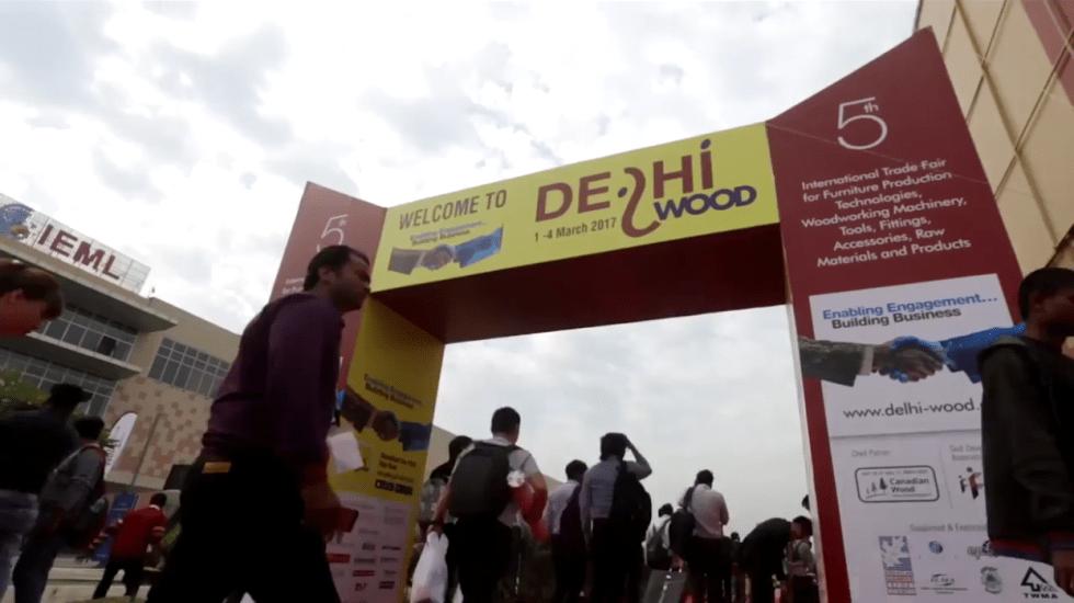 Participación De JBJ Products En La Feria DELHIWOOD 2019 (Nueva Delhi, India)