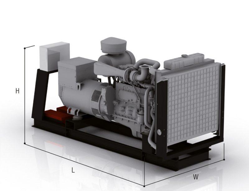 Agregat prądotwórczy otwarty JBJ