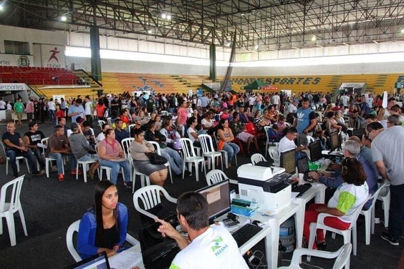Paraná Cidadão registra 8 mil atendimentos em Paranaguá 3