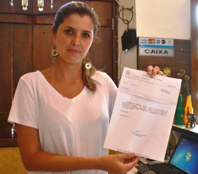 Ex-vereadora denuncia descumprimento da Lei Federal e do Decreto Municipal ao MPPR 1