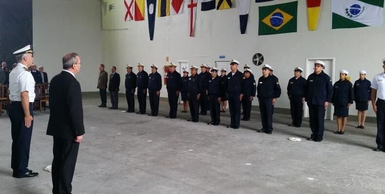 Cerimônia na Capitania dos Portos do Paraná celebra o Dia Nacional do Agente Marítimo 2