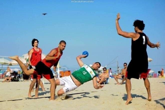 AHPA/Fundesportes participa da Copa Novo Espaço de Handebol de Areia 1