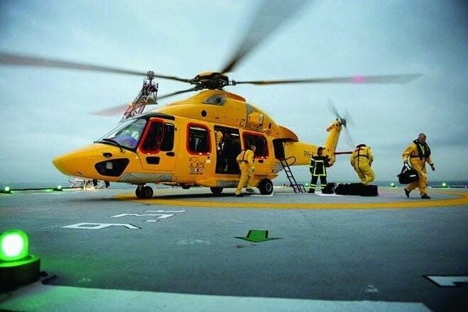Maior helicóptero executivo do mundo desembarca no Brasil pelo Porto de Paranaguá 1