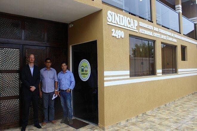 Nova sede do Sindicap terá centro de capacitação para trabalhadores da categoria 1