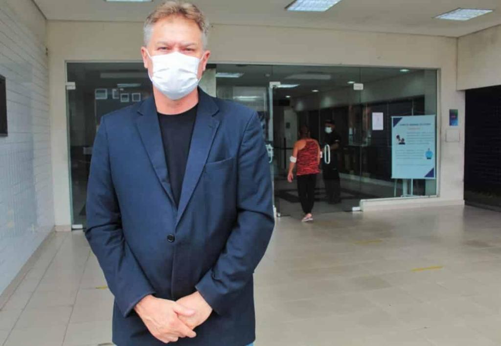 """""""Chegamos no limite"""", diz diretor do Hospital Regional sobre os leitos da Ala Covid 1"""
