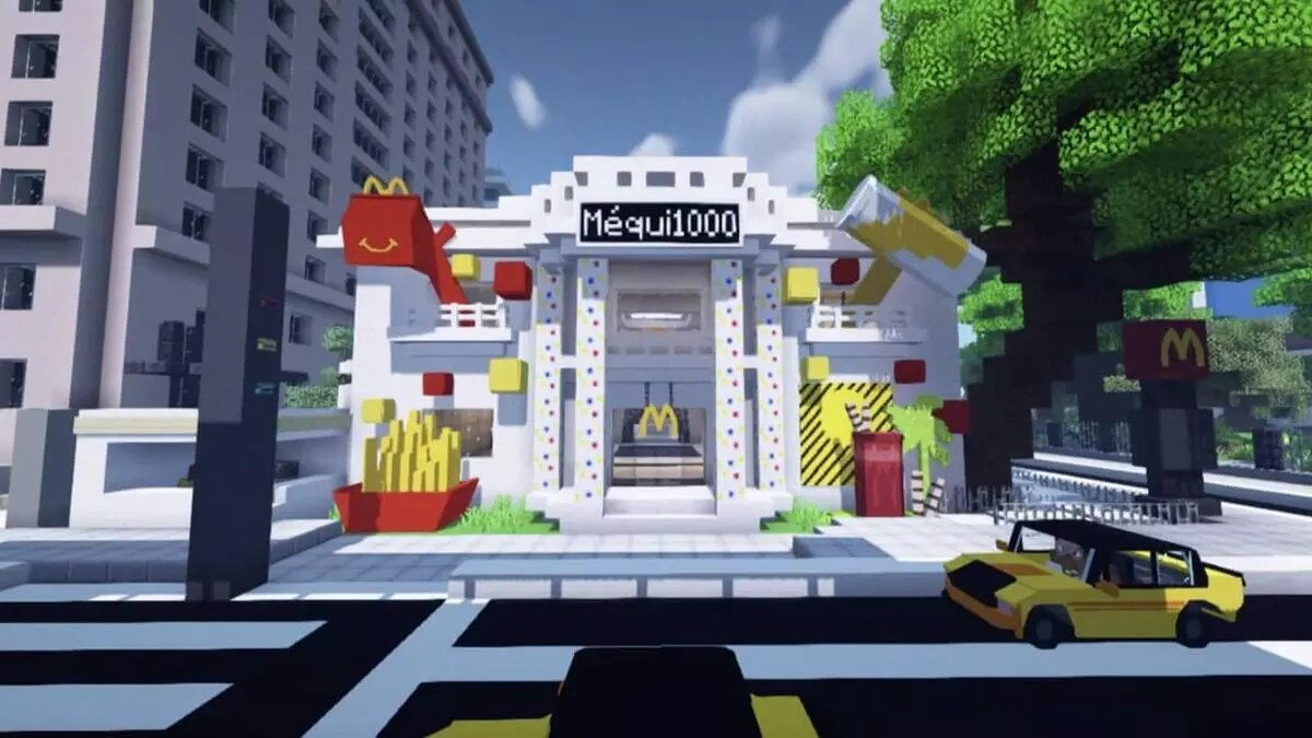 MC Donald's no mundo dos games! Réplica do Méqui 1000 estará dentro de Minecraft e The Sims 4 1