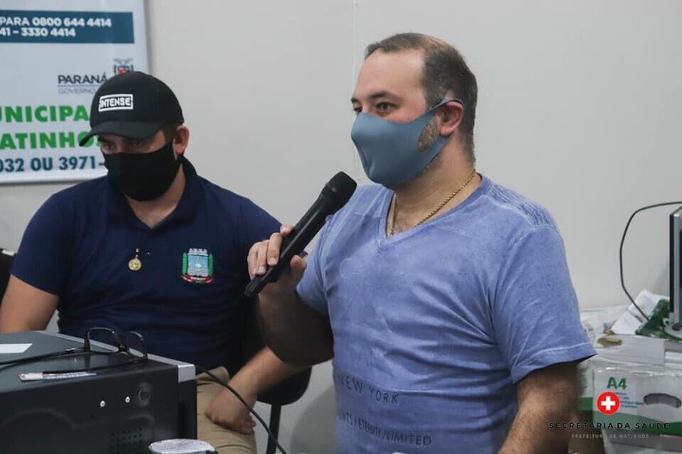 Paulo Henrique, Ph, matinhos secretário saúde