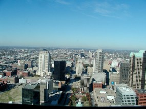 St. Louis again..as seen from the Arch