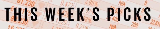 this week's stock picks