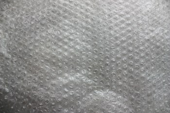 Plastic wrap used for protecting fragiles