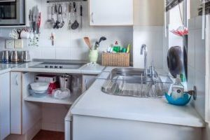 Kitchen look before moving from Beverly Hills to Glendale