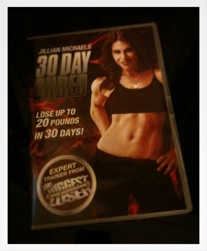 30 Day Shred: Belly-busting time again