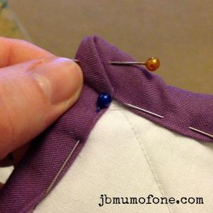Binding quilt corners