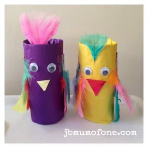 Toilet Roll Craft: Pinchy Parrots