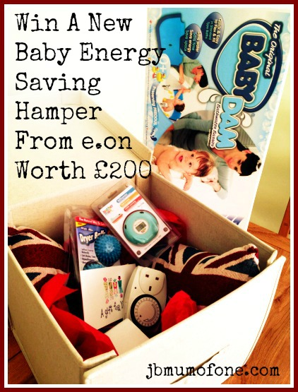 EON energy saving new baby hamper