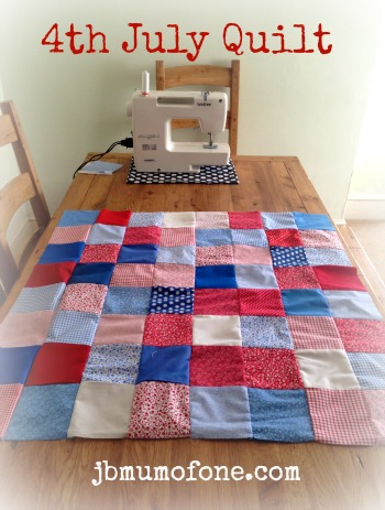 Happy 4th July! Plus a little bit of Quilting.