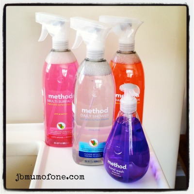 Method non-toxic cleaning products