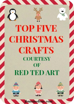 Top Five Christmas Crafts From Red Ted Art