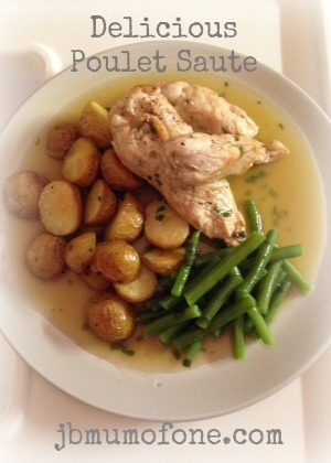 Delicious Poulet Saute Recipe With Help From Country Valley Foods