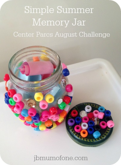 Simple Summer Memory Jar