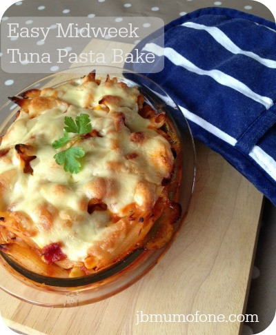 Easy Midweek Meal: Tuna Pasta Bake