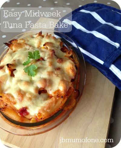 Easy Midweek Meal: Tuna Pasta Bake
