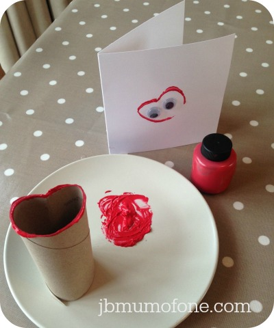 Simple Valentine's Day Card and Wrapping Paper