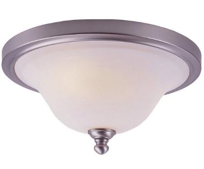 1930's parlour style flush-mount light