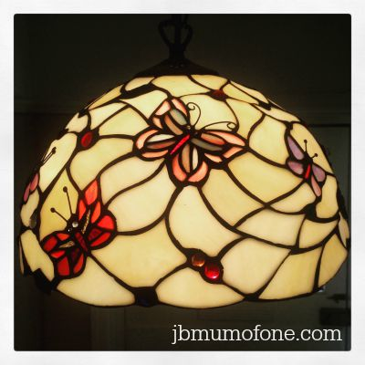 Tiffany Butterfly Pendant Shade