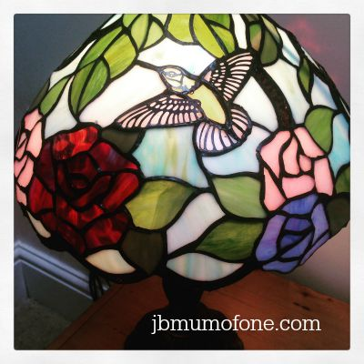 Tiffany Hummingbird Lampshade