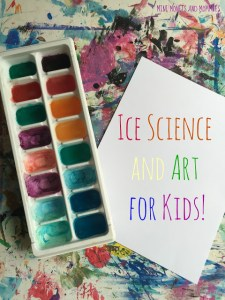 Ice Science and Art For Kids